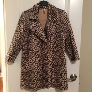 Leopard print blazer/jacket
